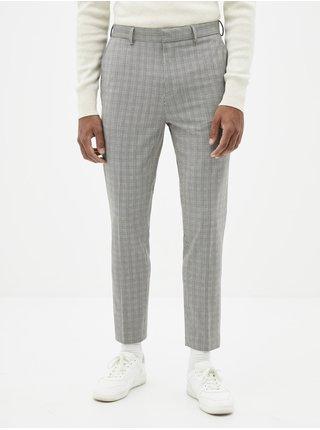 Kostkované chino kalhoty Solouis Celio