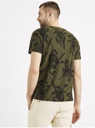 Tričká s krátkym rukávom pre mužov Celio - zelená