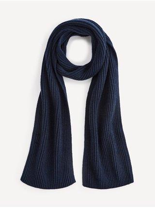 Čiapky, šály, rukavice pre mužov Celio - modrá