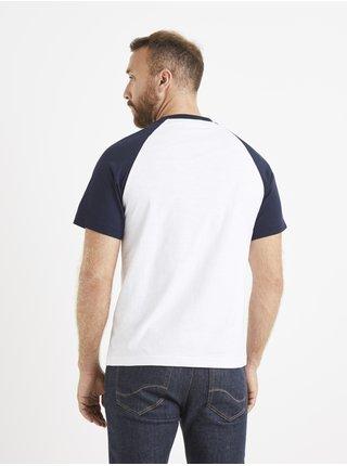 Tričká s krátkym rukávom pre mužov Celio - biela