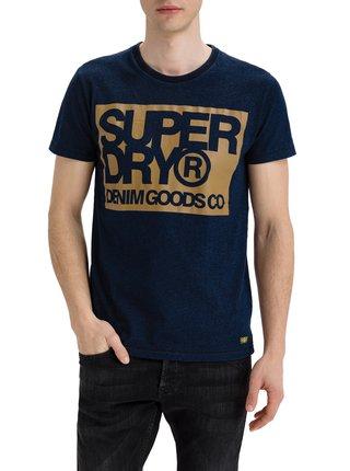 Tričko Denim Goods Co Print Tee Superdry