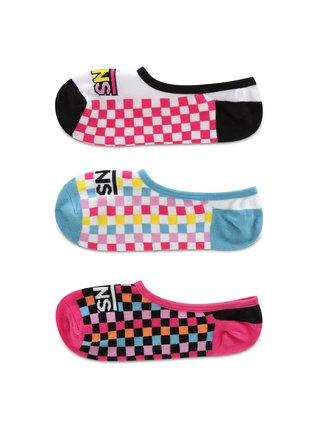 Ponožky Wm 6.5-10 3P Zoocano Multi Vans