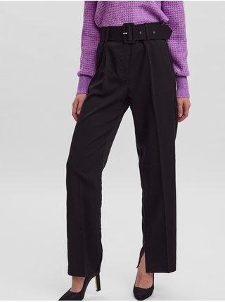 Nohavice pre ženy VERO MODA - čierna