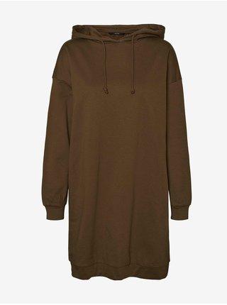 Voľnočasové šaty pre ženy VERO MODA - kaki