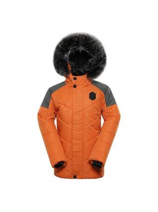 Dětská bunda s membránou ptx ALPINE PRO ICYBO 5 oranžová