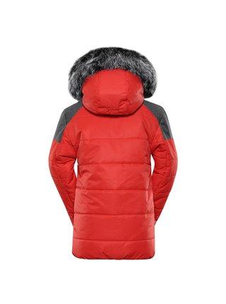 Dětská bunda s membránou ptx ALPINE PRO ICYBO 5 červená