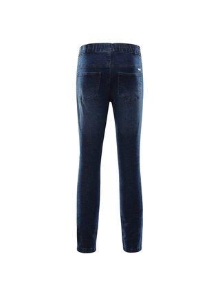 Dětské kalhoty džíny ALPINE PRO ALFO modrá