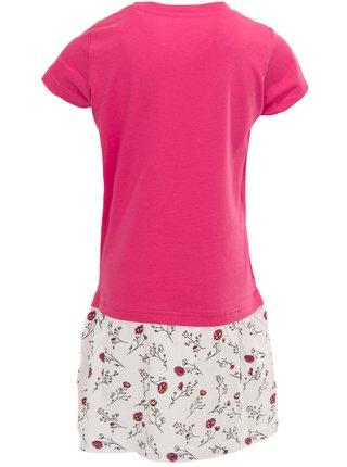 Dětské šaty ALPINE PRO ARDIO růžová