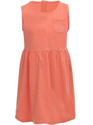 Dětské šaty ALPINE PRO GUSTO oranžová