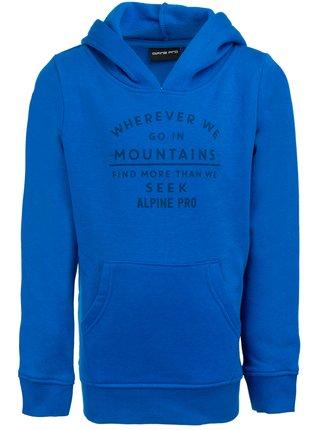 Dětská mikina ALPINE PRO BALENDO modrá