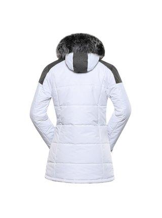 Dámská bunda s membránou ptx ALPINE PRO ICYBA 7 bílá