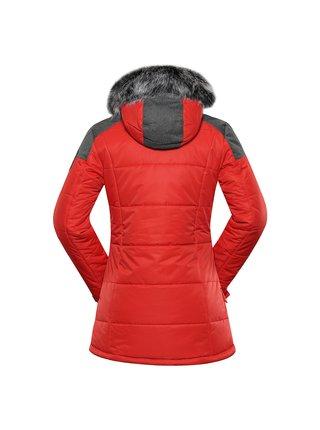 Dámská bunda s membránou ptx ALPINE PRO ICYBA 7 červená