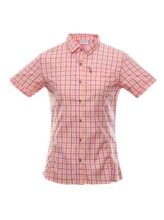 Dámské rychloschnoucí košile ALPINE PRO LURINA 4 růžová
