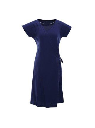 Dámské šaty ALPINE PRO SOLEIA modrá