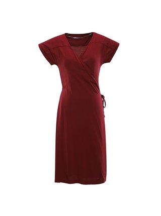 Dámské šaty ALPINE PRO SOLEIA červená