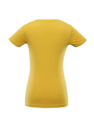 Dámské bavlněné triko ALPINE PRO LAGA zelená