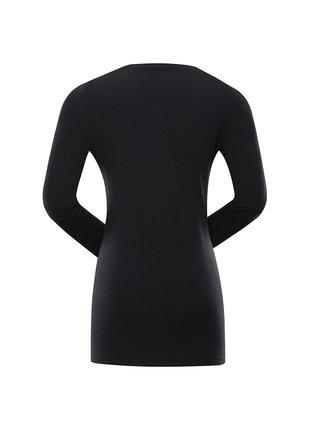 Dámské bavlněné triko ALPINE PRO MEGANA 2 černá