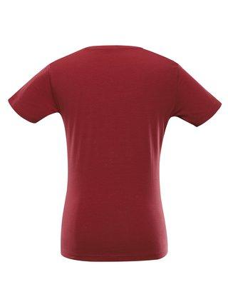 Dámské bavlněné triko ALPINE PRO CEDRIKA 2 červená
