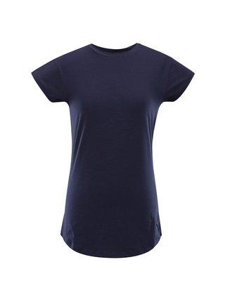 Dámské bavlněné triko ALPINE PRO ELIJA 2 modrá