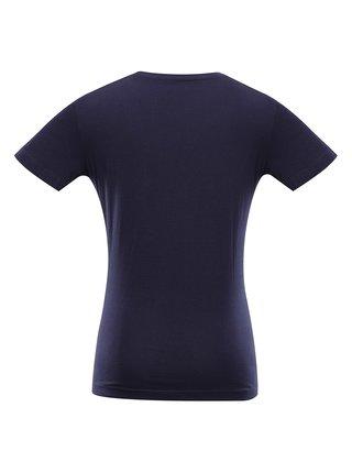 Dámské bavlněné triko ALPINE PRO MELLA modrá