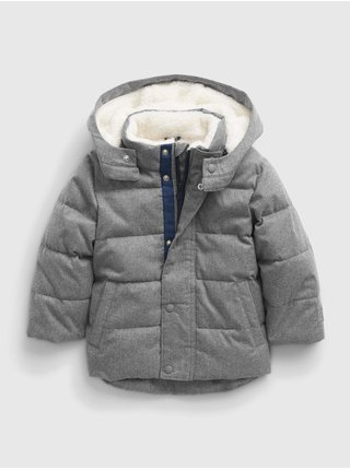 Šedá klučičí bunda warmest jacket GAP