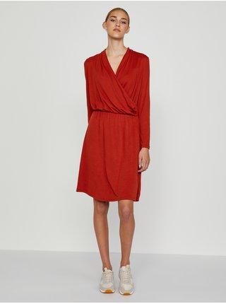 Spoločenské šaty pre ženy CAMAIEU - červená