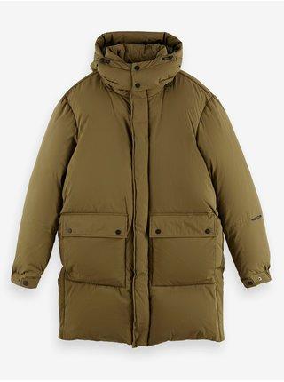 Khaki pánská zimní bunda Scotch & Soda