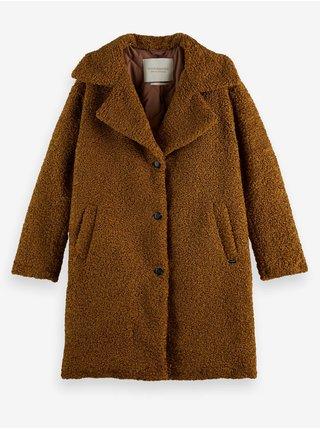 Hnědý dámský kabát Scotch & Soda