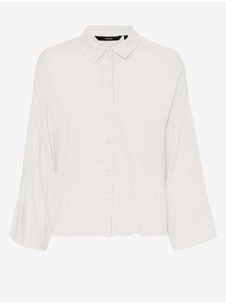 Bílá dámská košile VERO MODA Rie