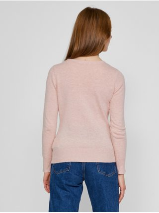 Světle růžový svetr CAMAIEU