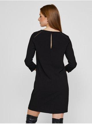 Černé krátké šaty CAMAIEU