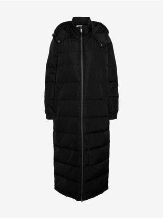 Černý zimní kabát Noisy May Maia