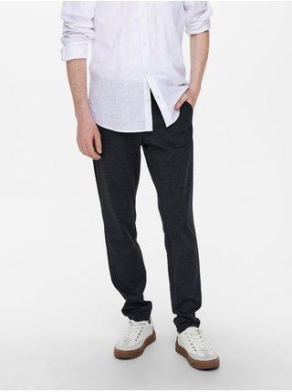 Formálne nohavice pre mužov ONLY & SONS - tmavomodrá
