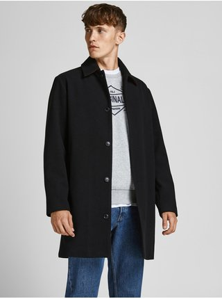 Černý zimní kabát Jack & Jones Timmy