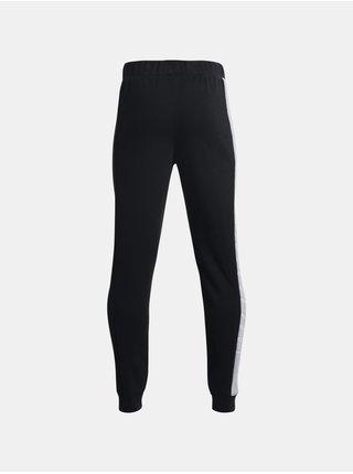 Kalhoty Under Armour UA BOYS BASELINE FLEECE PANT-BLK