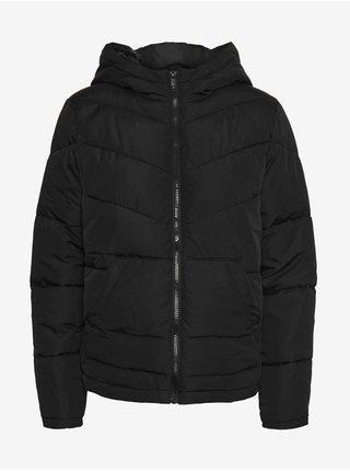 Černá dámská prošívaná zimní bunda Noisy May Dalcon