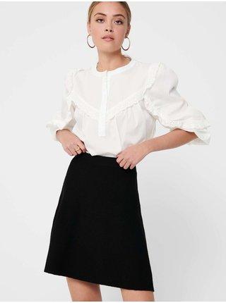 Čierna dámska sukňa ONLY Lynsie