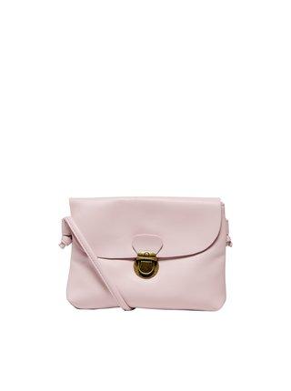 Světle růžová crossbody kabelka ONLY Pretti