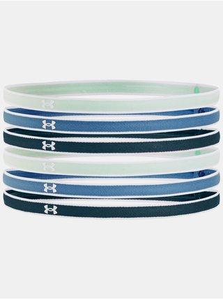 Čelenka Under Armour UA Mini Headbands (6pk) - modrá