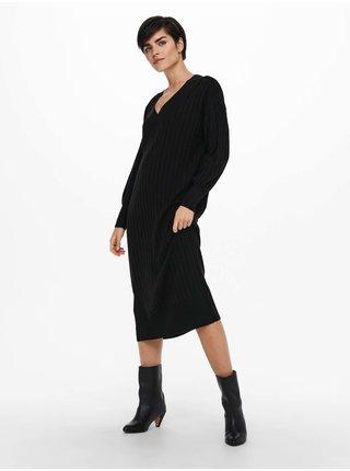 Šaty na denné nosenie pre ženy ONLY - čierna