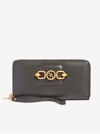 Peňaženky pre ženy Guess - tmavosivá