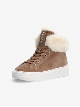 Zimná obuv pre ženy Guess - hnedá
