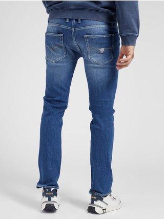 Straight fit pre mužov Guess - modrá
