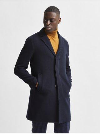Kabáty pre mužov Selected Homme - tmavomodrá