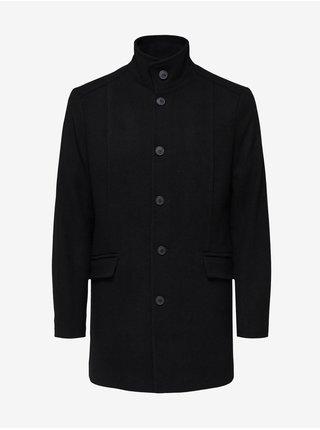 Kabáty pre mužov Selected Homme - čierna
