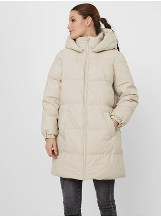 Kabáty pre ženy VERO MODA - krémová
