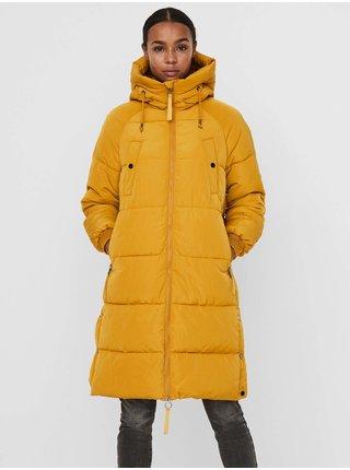 Kabáty pre ženy VERO MODA - žltá