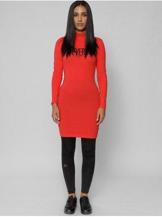 Dámske šaty na denné nosenie pre ženy Devergo - červená