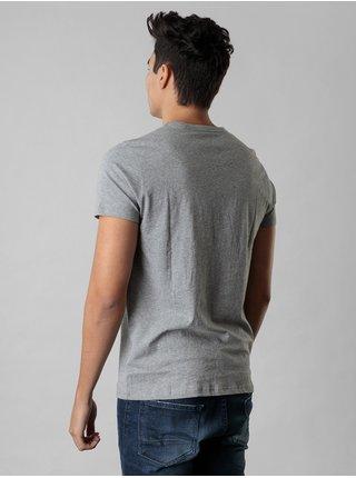 Šedé pánské tričko s potiskem Devergo