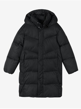 Černá dětská prošívaná bunda Reima